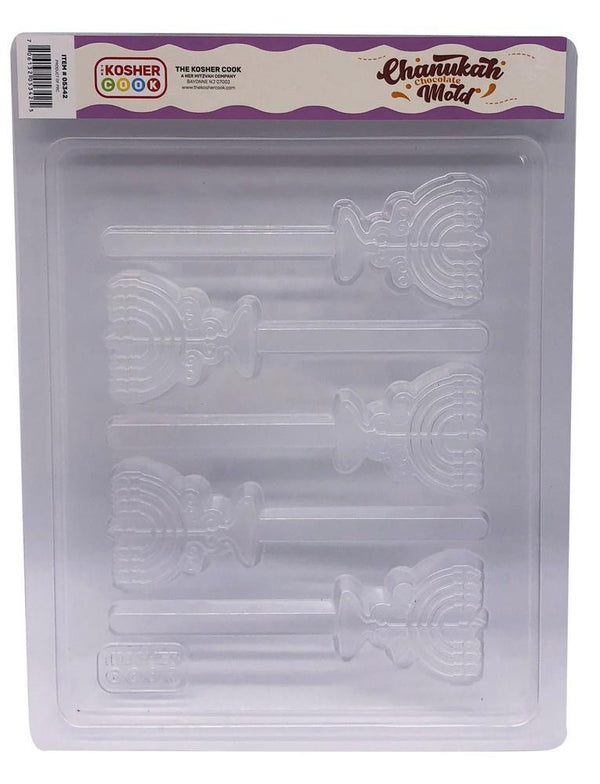 Kosher Cook Menorah Lolly Mold | Kitchen Art | Wrapt