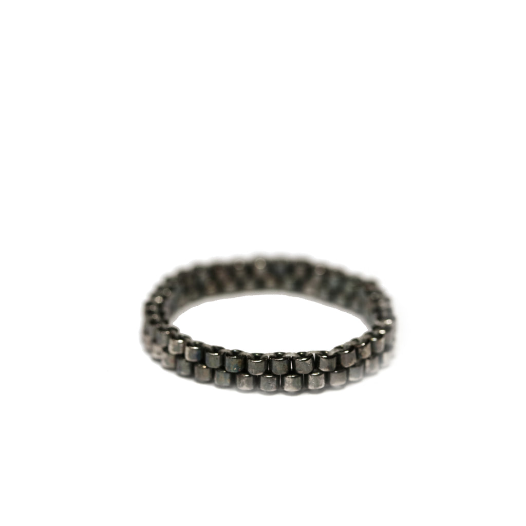 stackable silver ring