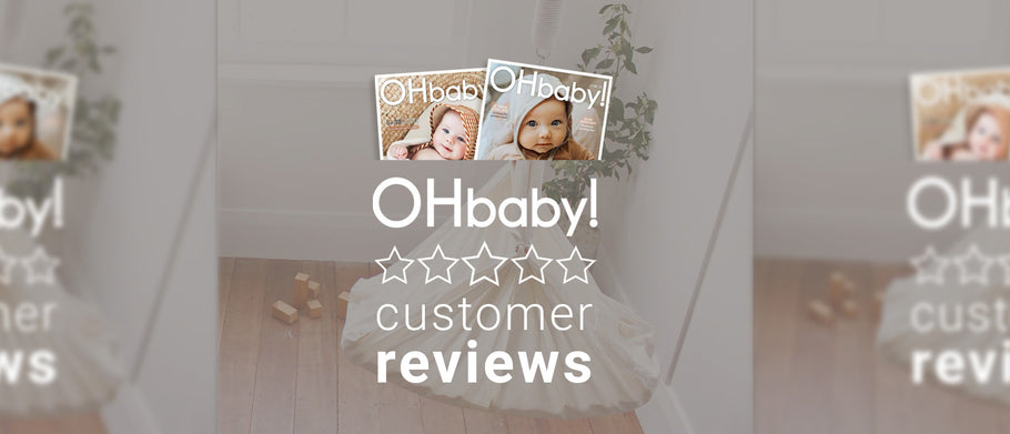OHBaby! customers review the Nature's Sway baby hammock