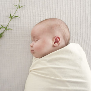 Organic cotton swaddle