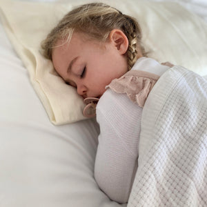 Organic Wool Toddler Pillow