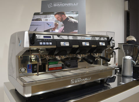 Nuova Simonelli Machines at World Barista Champs