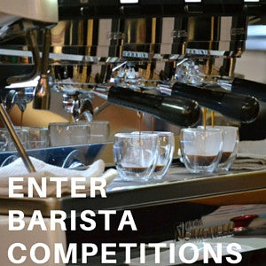 Enter barista competitions