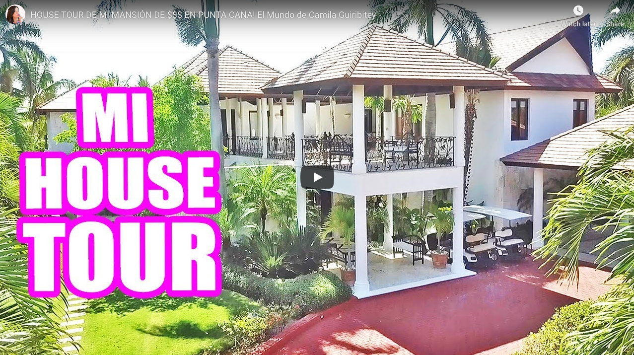 Tour Of My Dominican Republic Mansion