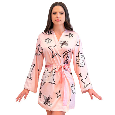 Stella Short Robe