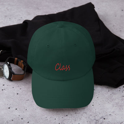 Red Signature Class Dad hat