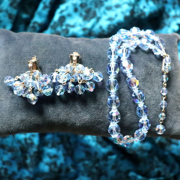 Blue Aurora Costume Jewellery Set