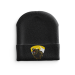 Black Knit Barron/Chetek Grizzlies hat
