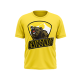Barron/Chetek Grizzlies Yellow Tshirt