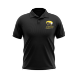 Barron/Chetek Grizzlies Black Embroidered Polo