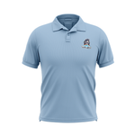 Uncle Jimmy's Unicorn Farm Blue Performance Sublimated  Polo