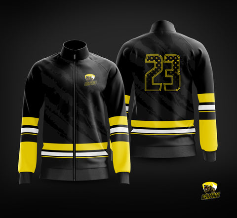 Barron/Chetek Grizzlies 2020 Warm Up Jacket