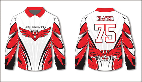 LC Warhawks Vantage Wings Warmup Jacket