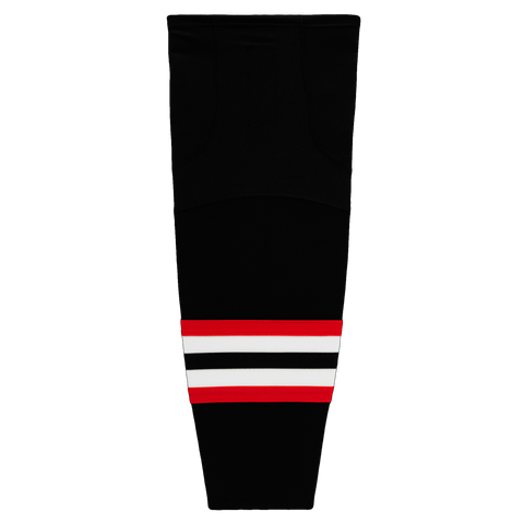 Lake Country Warhawks Cut Resistant Hockey Socks - Black
