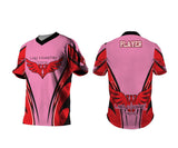 LC Warhawks Vantage Wings Pink Performance Shirt