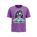 Uncle Jimmy's Unicorn Farm Purple Tshirt