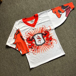 Wolves White Hockey Jersey