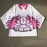 Unicorns Hockey White Jersey