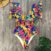 Tropical Floral Swimwear
