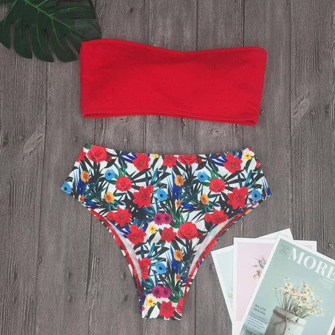 The Red Versatile Bikini