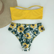 The Yellow Versatile Bikini