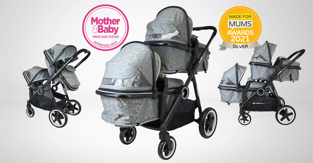 isafe tandem mother&baby tired and tested, made for mums awards winner