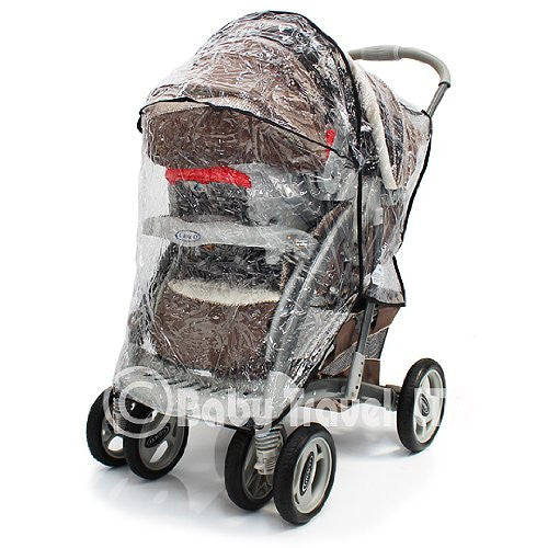 New Sale Rain Cover To Fit Graco Vivo Ts & Stroller - Baby Travel UK  - 1