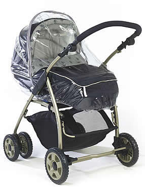 Rain Cover For Chicco Dreamy Carrycot - Baby Travel UK  - 1