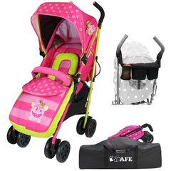 iSafe OPTIMUM Stroller Mea LUX Design + Parent Console + Stroller Travel Bag