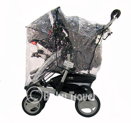 Strong Rain Cover For Graco Travel System Zipped - Baby Travel UK  - 1