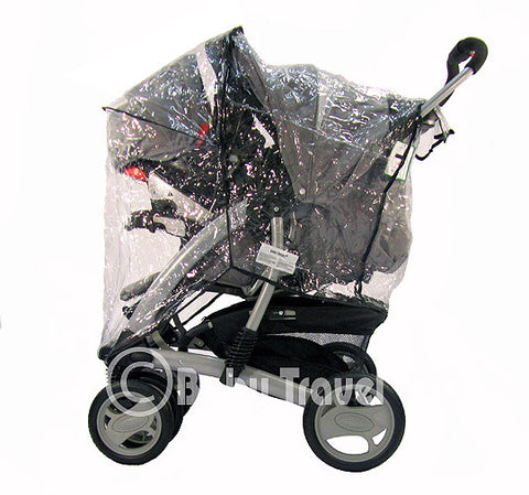 Strong Rain Cover For Graco Travel System Zipped