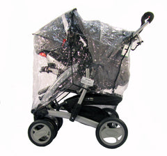 Raincover For Graco Quattro Deluxe - Baby Travel UK  - 2