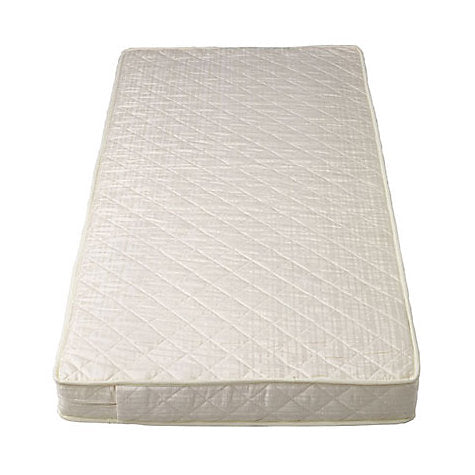 Baby Travel Cot Bed Deluxe Spring Mattress Cotbed 140 x 70