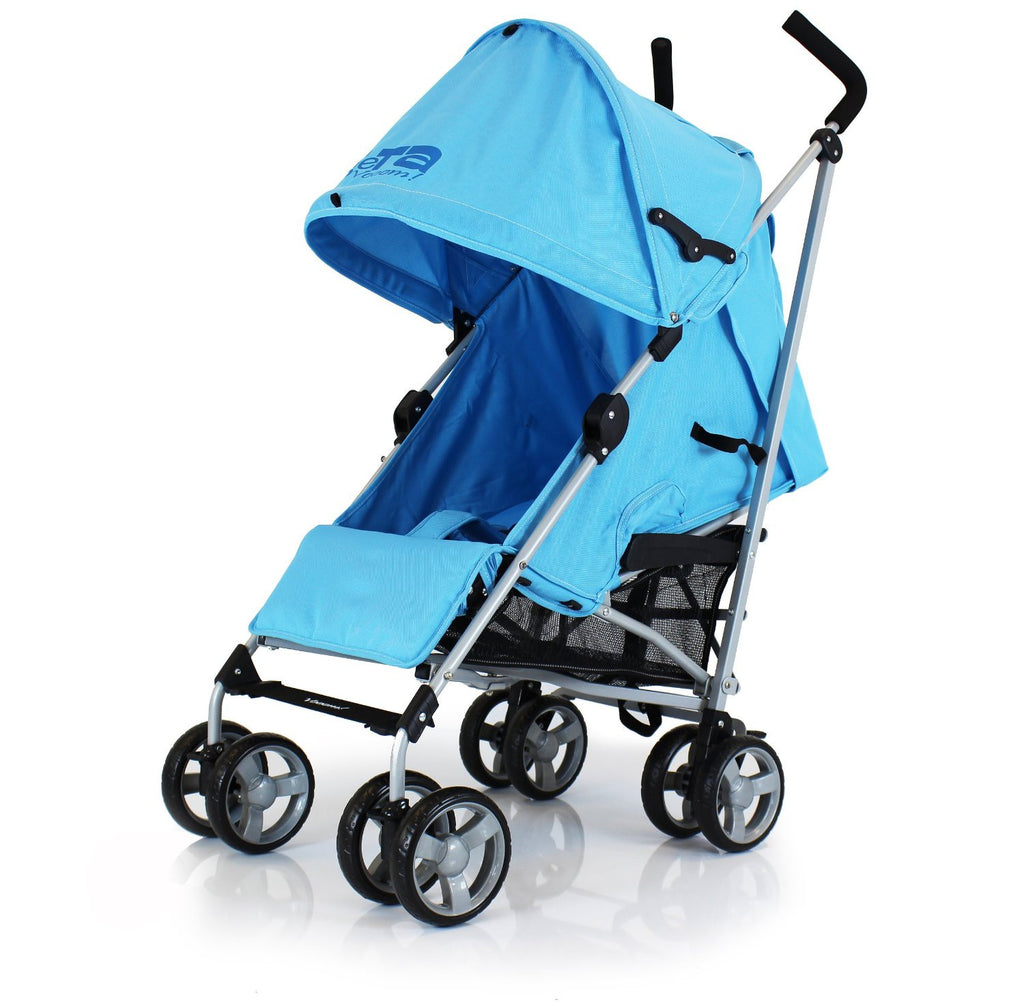 Baby Pushchair Zeta Vooom Stroller Ocean Blue - Baby Travel UK  - 3