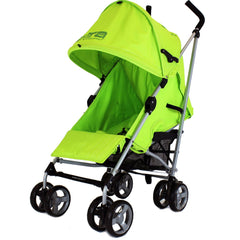 Baby Stroller Zeta Vooom Hearts And Stars Complete Lime Lemon - Baby Travel UK  - 4