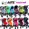 iSAFE 2 in 1 Pram + Rain Cover - Many Colors Available