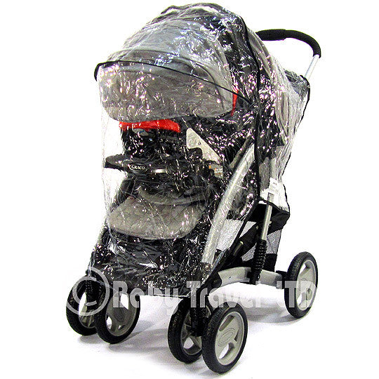 Strong Rain Cover For Graco Travel System Zipped - Baby Travel UK  - 2