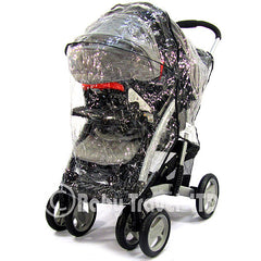 Rain Cover For Jane Twone Single Pushchair  & 1 Koos Car Seat - Baby Travel UK  - 1