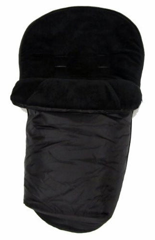 New Footmuff To Fit Petite Star Zia, Quinny Buzz Black
