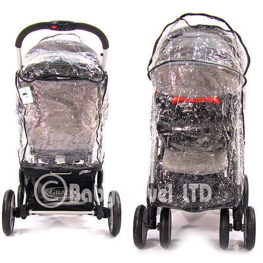 Raincover For Graco Quattro Tour Sport - Baby Travel UK  - 1