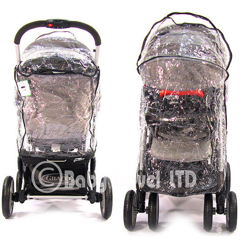 Travel System Zipped Raincover For Graco
