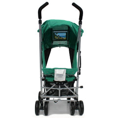 Zeta Vooom - Leaf + Luxury Buggy Stroller Padded Linear Black - Baby Travel UK  - 4