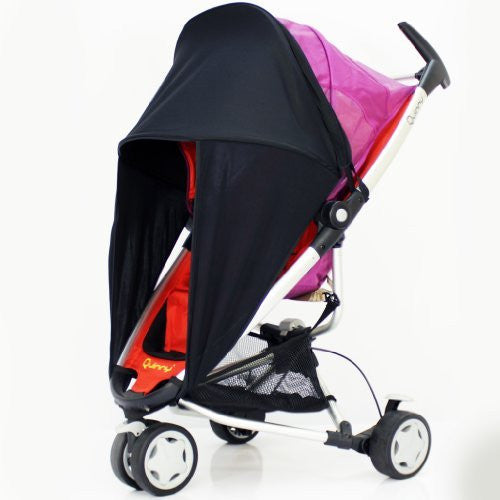 Sunny Sail Universal Red Kite Zebu Buggy Pram Stroller Shade Parasol Substitute - Baby Travel UK  - 1