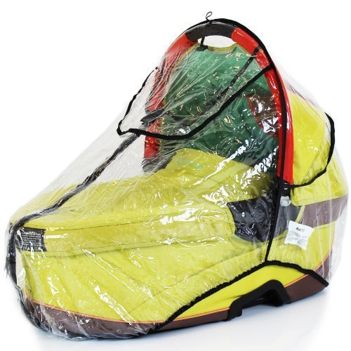 Universal Raincover Quinny Buzz Dreami Carrycot Ventilated Top Quality - Baby Travel UK  - 1