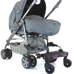 Stroller-pram-board Grey Logo Ride On Buggy Fits Mamas & Papas Pulse - Baby Travel UK  - 5