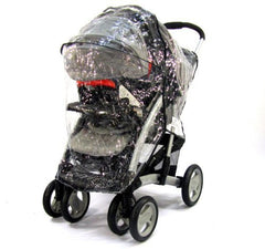 Travel System Zipped Rain Cover For Hauck Shopper 6 - Baby Travel UK  - 3