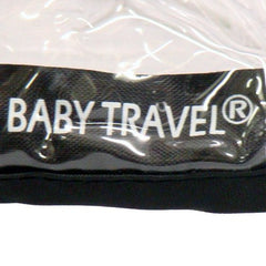 Twin  Rain Cover To Fit Side By Side Twin Stroller - Baby Travel UK  - 3