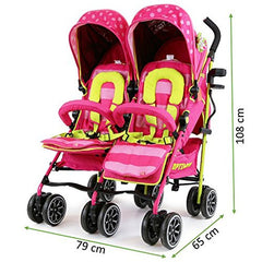 iSafe TWIN OPTIMUM Stroller iDiD iT Design The Best Stroller In The World - Baby Travel UK  - 13