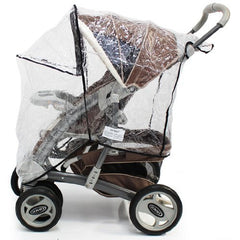 Raincover Zipped For Graco Quattro Tour Sport Travel System - Baby Travel UK  - 3