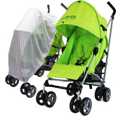 Baby Stroller Zeta Vooom Lime Including Sunnet - Baby Travel UK  - 1